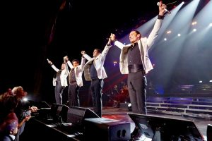 September 29, 2016: Il Divo perform at Radio City Music Hall in New York City.