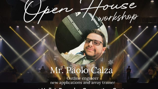 Open House Workshop in Surabaya with Paolo Calza