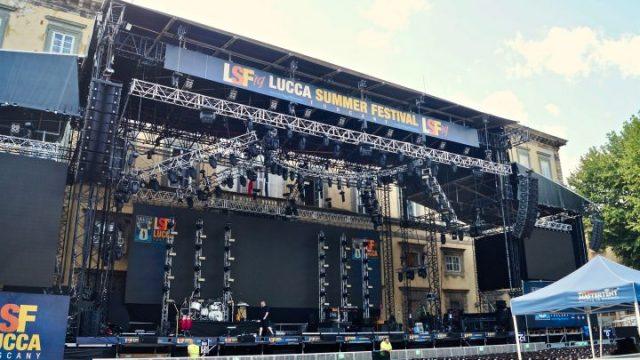 Eros Ramazzotti al Lucca Summer Festival