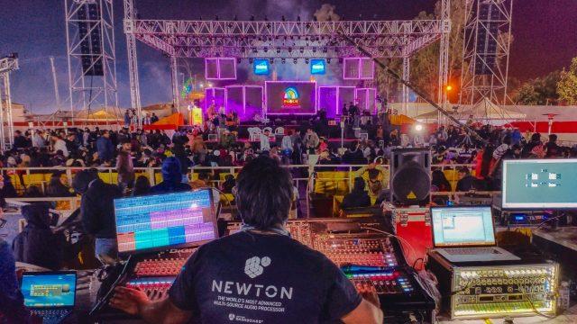 Outline processes the Panch Mahotsav festival