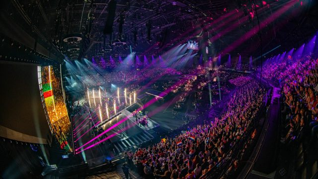 Ampco Flashlight uses Outline NEWTON at Eurovision Song Contest 2021