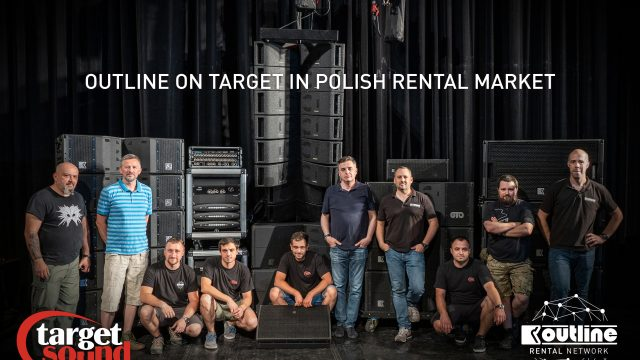 La rental company Target Sound diventa Outline GTO Partner
