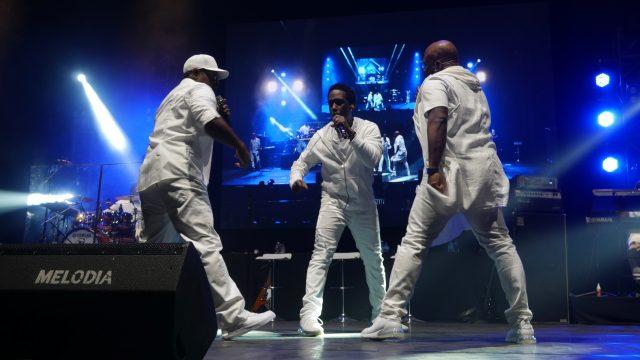 Outline C-12 and Melodia Sound reinforce Boyz II Men concert in Jakarta