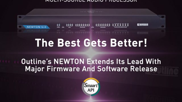 Newton di Outline integra Smaart API